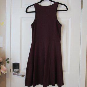 H&M Burgundy Wine Dress